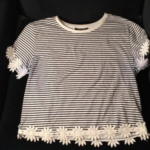 Top shop striped top